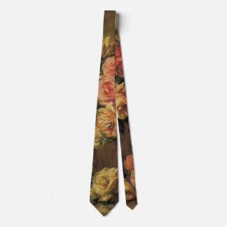 Cravate Roses dans un vase par Pierre Renoir, beaux-arts