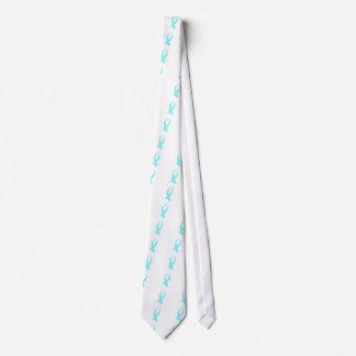 Cravate Ruban de conscience (bleu-clair)