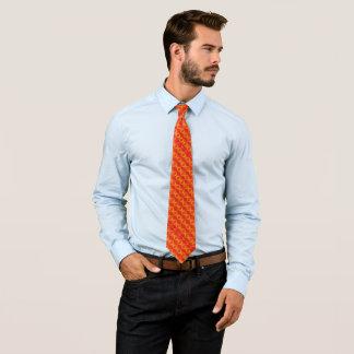 Cravate Satin de Foulard de coucher du soleil de Phoenix