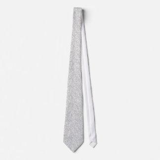Cravate Scintillement élégant et étincelles de gris