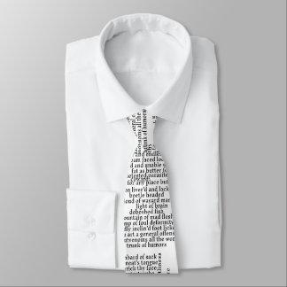 Cravate Shakespeare insulte le théâtre drôle de liste