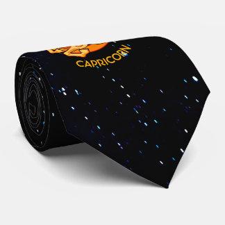 Cravate Signe d'anniversaire de zodiaque de Capricorne