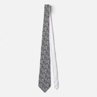 Cravate succulente colorée