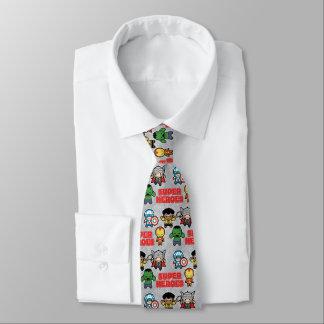 Cravate Superhéros de merveille de Kawaii