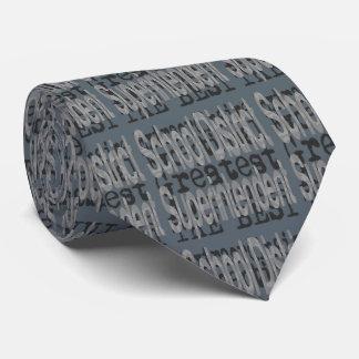 Cravate Surveillant de secteur scolaire Extraordinaire