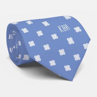 Cravate Symbole blanc de Dwennimmen Strength|Humility