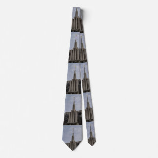 Cravate Temple de Seattle