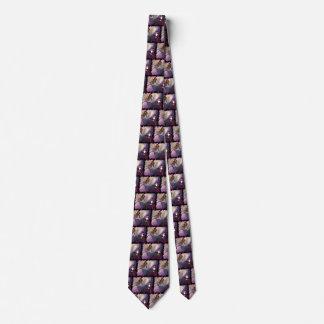 Cravate tentée