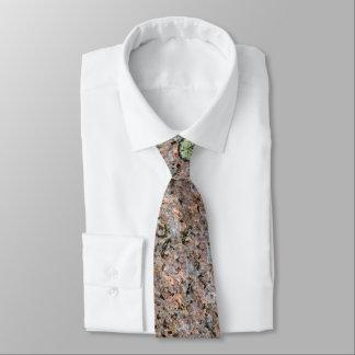 Cravate Texture neutre approximative fraîche de roche avec