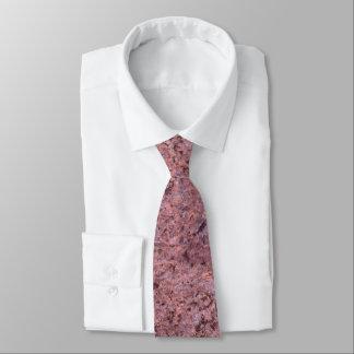 Cravate Texture rose neutre approximative de roche