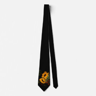 Cravate Tournesol