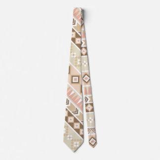 Cravate tribale de motif de Natif américain