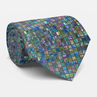 Cravate Tuiles brillantes colorées par Aqua fascinant