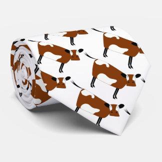 Cravate Vache brune mignonne