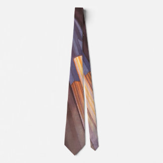 Cravate Vaisseau spatial vintage de la science-fiction