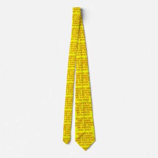 Cravate Vers de bible de 16h31 de Lois. Double côté