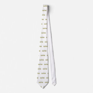 Cravate vert heureux de menthe de jaune de ressort de