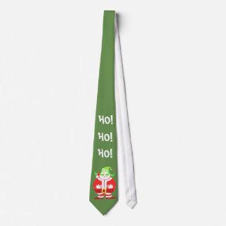 Cravate (verte) étonnée de Père Noël