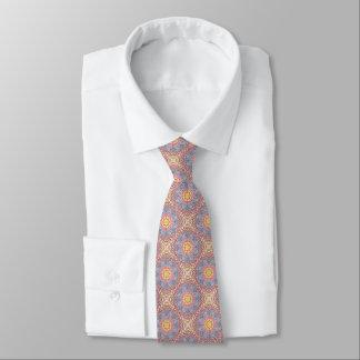 Cravates colorées de kaléidoscope vintage de