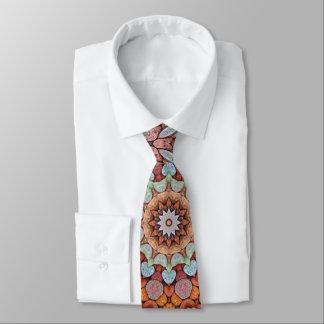 Cravates vintages colorées   de kaléidoscope de
