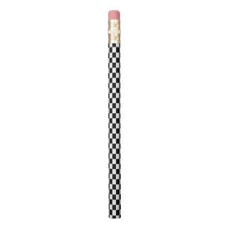 Crayon Damier noir et blanc