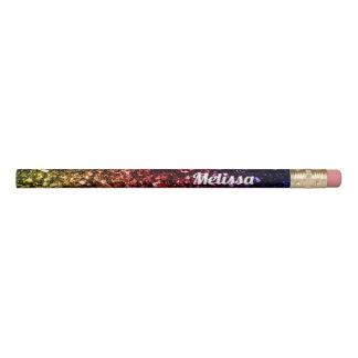 Crayon Personnalisez les étincelles pourpres rouges