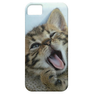 Crazy Cat Case Barely There iPhone 5 Hoesje