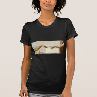 Création des mains d'Adam - Michaël Angelo T-shirt