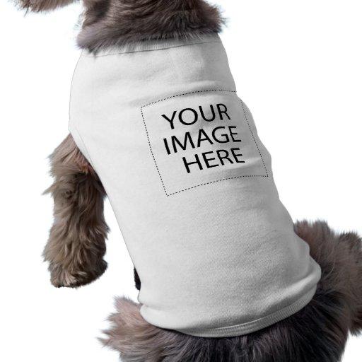 Creëer Uw Eigen Overhemd van het Huisdier Honden Shirt