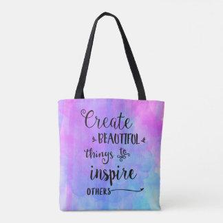 Créez le beau sac de choses