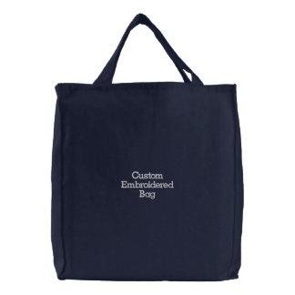 Créez le sac brodé élégant frais de coutume