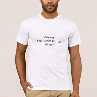 Créez le T-shirt américain fait sur commande de