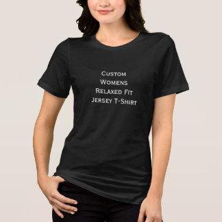 Créez le T-shirt détendu du Jersey de l'ajustement