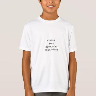 Créez le T-shirt Double-Sec de maille de sports de