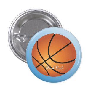 Créez votre propre basket-ball fait sur commande badge rond 2,50 cm