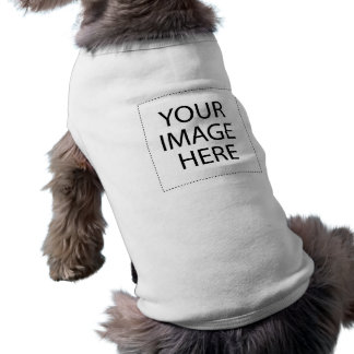 Créez votre propre chemise d'animal familier tee-shirt pour animal domestique