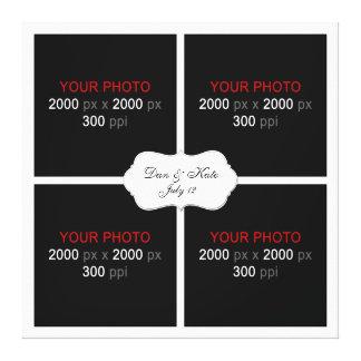 Créez votre propre collage 003 de photo de mariage toiles