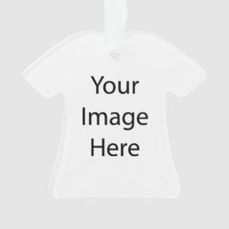Créez votre propre ornement d'acrylique de chemise