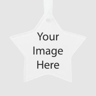 Créez votre propre ornement d'acrylique d'étoile