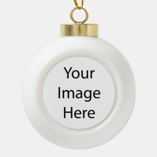 Créez votre propre ornement en céramique de boule
