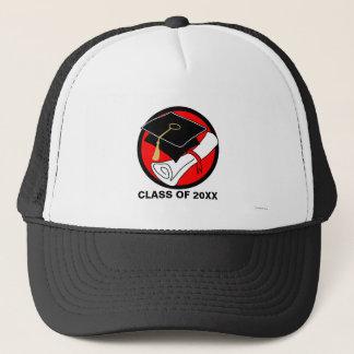 Créez votre propre rouge de casquette de diplôme
