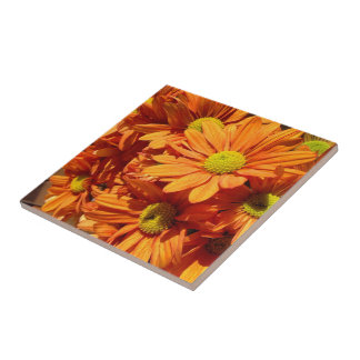 Créez votre propre tuile carrée - florale carreau