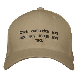 Créez votre très propre casquette brodé