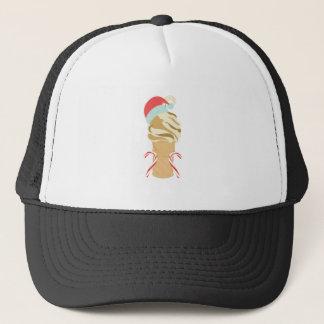 Crème glacée de Noël Casquette