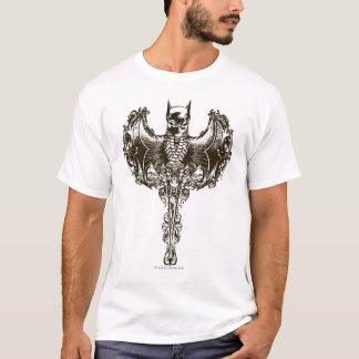 Crête de capot et de crâne de Batman T-shirt