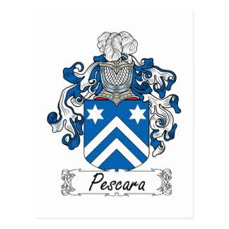 Crête de famille de Pescara Carte Postale