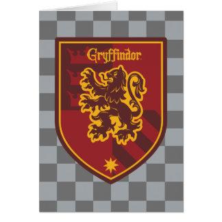 Crête de fierté de Chambre de Harry Potter | Carte De Vœux