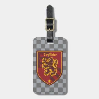 Crête de fierté de Chambre de Harry Potter | Étiquette À Bagage