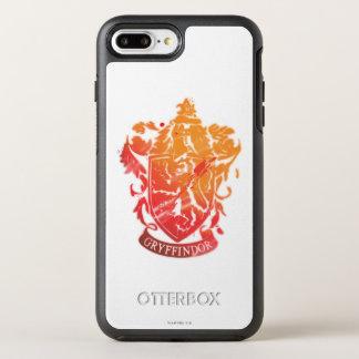 Crête de Gryffindor - éclaboussée Coque Otterbox Symmetry Pour iPhone 7 Plus