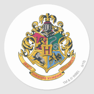 Crête de Harry Potter | Hogwarts - polychrome Sticker Rond